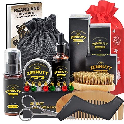 ZENNUTT Kit cuidado barba acondicionador barba mantequilla