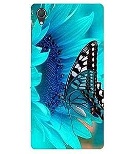 Doyen Creations Designer Printed High Quality Premium case Back Cover For Sony Xperia M4 AQUA