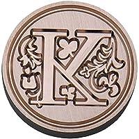 favourall 26Carta Sello Sello de Carta Craft Stamper, Estilo Europea Alfabeto de Sello de Juego
