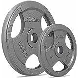 Bodymax Olympic Cast Iron Tri-Grip Weight Plates