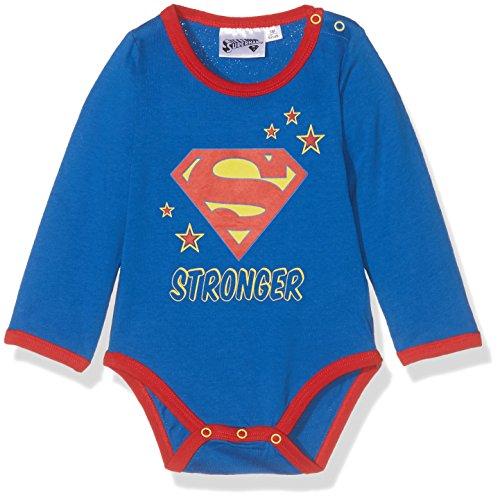 Superman 86051, Body Unisex bebé, Azul (Bleu), (Talla del Fabricante: