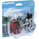 Playmobil - 5240 - Figurine - Duo Chevalier Dragon Et Chevalier De Fer