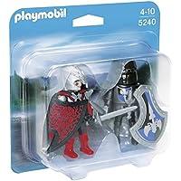 Playmobil - 5240 - Figurine - Duo Chevalier Dragon Et Chevalier De Fer