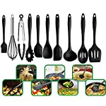 JJLng Cooking Silicone Kitchenware Non-toxic Heat-resistant Non-stick Cooker Bakery Set Kitchen Cookware Tools 10 pcs