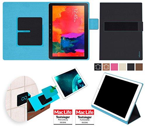 reboon Hülle für Samsung Galaxy TabPro 10.1 Tasche Cover Case Bumper | in Schwarz | Testsieger