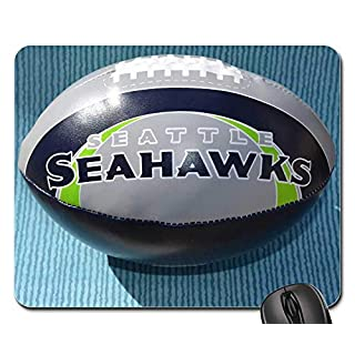 Mouse Pads - Seattle Seahawks Seahawk Logo Football Background