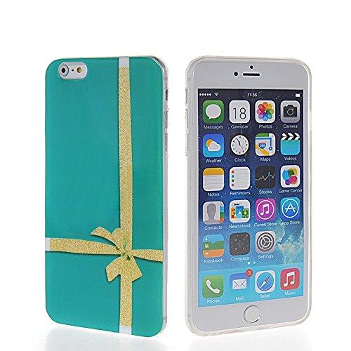 MOONCASE Modèle Mignon TPU Silicone Housse Coque Etui Gel Case Cover Pour Apple iPhone 6 Plus A16205