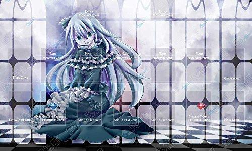Playmat Yashiki Warashi - Ghost Girl - Ideal for Link monsters Yugioh
