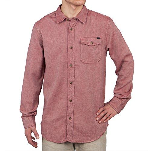 O'Neill Herren T-Shirt Rot Rot Gr. X-Large, Rot - Rot (Woven Oneill-shirt)