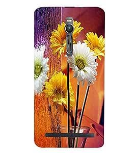 PRINTSWAG FLOWERS Designer Back Cover Case for ASUS ZENFONE 2