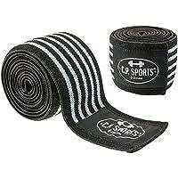 C.P. Sports Strongman Kniebandagen 200 cm, Schwarz/Grau, One size, 38749 preisvergleich bei billige-tabletten.eu