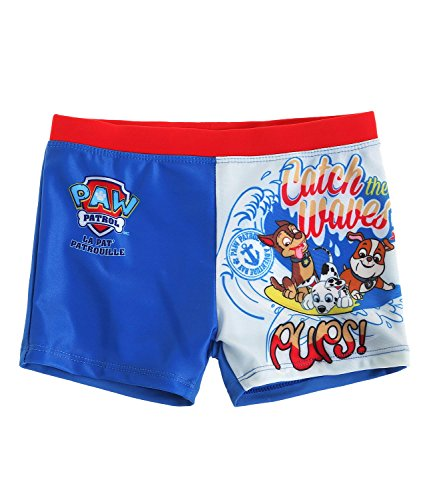 Official Paw Patrol Licensed Beach Quick Dry Swim Swimming Trunk Shorts Boxer For Boys Girls