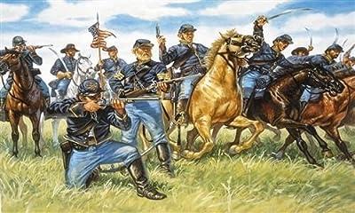 Italeri 510006013 - 1:72 Vereinte Kavallerie 1863 von Italeri