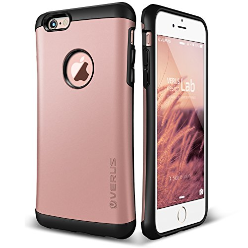 Funda iPhone 6S /6, VRS Design [Thor][Oro Rosa] - [Shock- Absorción c