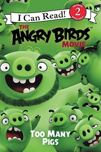 The Angry Birds Movie: Too Many Pigs (I Can Read Level 2) (English Edition)