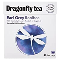 Dragonfly Rooibos Earl Grey Tea 40 per pack by Dragonfly