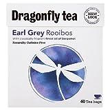Dragonfly Tea Rooibos Earl Grey Tea 40 Bag - DRF-0012 by Dragonfly Tea