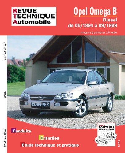 Revue technique automobile, n° 623 : Opel Omega B Diesel : Moteur 6 cylindres 2.5, turbo : jusqu'à 9-99