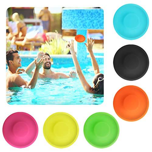 Flying swallow 6 Stück Mini Frisbee 2019 Neueste Chippy Frisbee, Mini Flying Disc Soft Eva Spielzeug Eltern Kind Zeit , Perfekter Spaß für Erwachsene, Kinder, Sport, Spiele & Outdoor