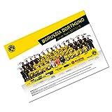 Borussia Dortmund Team Plakat 2017/18 - Poster / Mannschaftsposter BVB 09 - plus gratis Aufkleber forever Dortmund