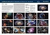 STERNZEIT 2019: Die Zeitreise der modernen Astronomie - Teleskope - Sterne - Galaxien - Galaktische Nebel - PALAZZI Kalender