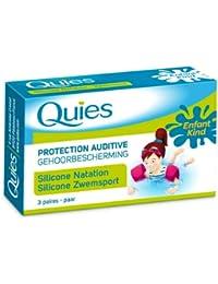 Protection auditive Quies Natation Enfant 3 paires- Lot de 6 boites à prix réduit!