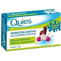 Gehörschutz Quies Schwimmen Kinder 3paires- 6Boxen im Set, reduziert Preis. preisvergleich bei billige-tabletten.eu