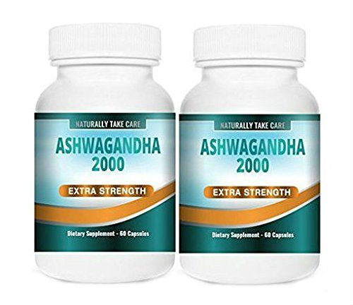 Ashwagandha Extracto Fuerte   Remedio ayurvédico para el estrés, la ansiedad y la fatiga   100{a9af29246ee95b714e87ee2e83aa85a19b0ce253ce645c97af9ed78d16aa7e74} Vegano   Ginseng Indio   Withania Somnifera   Mejor valor   Paquete de 2   120 Cápsulas 