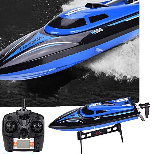 GOTOTOP RC Boot, 2,4 GHz RC-Schiff 25 km/h Speed Boot Ferngesteuertes Spielzeug für über 8 Jahre alte Kinder, 35.2 * 9.2 * 9cm