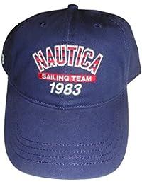 Nautica Men's Sailing Team Hat Ball Cap Navy