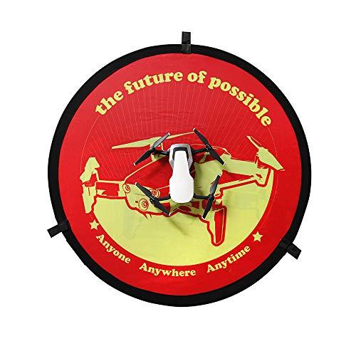 Artistic9 Drone Abschussrampe für DJI Mavic AIR/PRO Chimaera 3 4 Inspire 1-75cm RC Drohne Launch Landing Pad -Protable Helicopter Landeplatz Landing Pad - Doppelseitig verfügbar