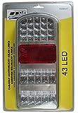 Rücklicht Caravan 43 LEDs Links Rückleuchte Wohnwagen PKW Anhänger Heckleuchte 338