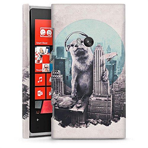 DeinDesign Nokia Lumia 920 Hülle Premium Case Schutz Cover Otter Stadt City (Lumia 920 Nokia Otter Case)