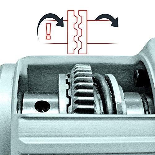 Einhell Bohrhammer TC-RH 800 E (800 W, 2,5 J,Bohrleistung Ø in Beton 26 mm, SDS-Plus-Aufnahme, Metall-Tiefenanschlag, Koffer) - 9