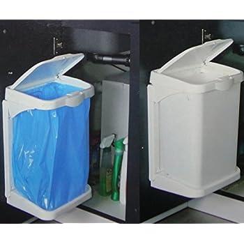 Doory Müllbeutelhalter, anthrazit, Einbauabfallsammler, Hallter für ...