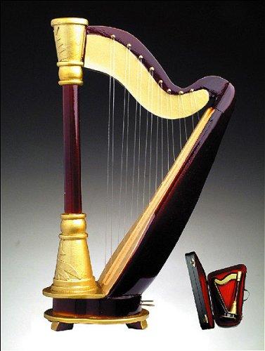 Broadway Harfe w Musik Fall Ständer Miniatur Musikinstrument