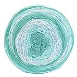 austermann Caribic Sun - Bunte Wolle mit Farbverlauf in Türkis