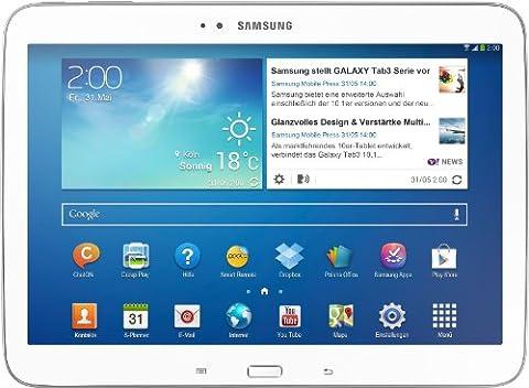 Samsung Galaxy Tab 3 25,7 cm (10,1 Zoll) Tablet (Intel Atom Z2560, 1,6GHz, 1GB RAM, 16GB interner Speicher, 3,2 Megapixel Kamera, 3G, WiFi, Android 4.2)