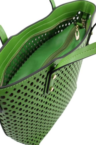 Made Italy , Sac pour femme à porter à l'épaule Vert - Vert