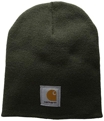 Carhartt Acrylic Knit Mütze, Dunkelgrün, Einheitsgröße
