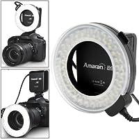 Luce LED Flash Light, adatta per Canon 50D / 7D / 450D / 40D / 500D / 550D / 600D, Effective Flash Range: 0.05-1.5m, Color Temperature: 5500K