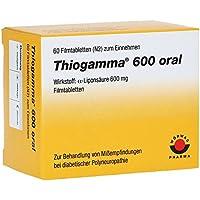 THIOGAMMA 600 ORAL 60St Filmtabletten PZN:4972013 preisvergleich bei billige-tabletten.eu