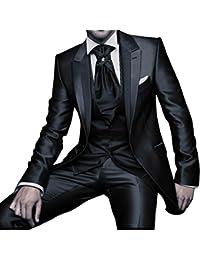 GEORGE Herren trajes de etiqueta smoking del juego de la chaqueta de los trajes de 3 piezas chaqueta de traje conjunto, pantalones de vestir, chaleco 153