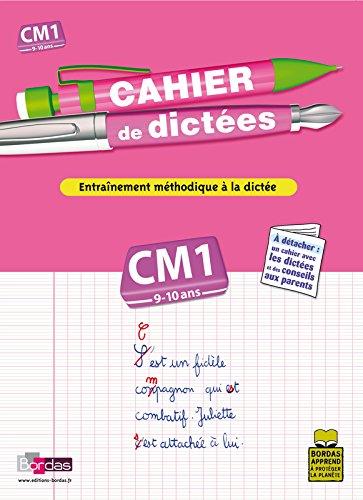 CAHIER DE DICTEES CM1