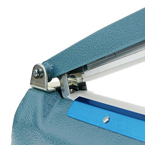 Cablematic Impuls Schweißgerät Metall Gehäuse Taschen Verschweißen 20 cm 200 mm - 5