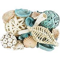 Potpourri Maritim - Ovillo de lana (500 g), color turquesa