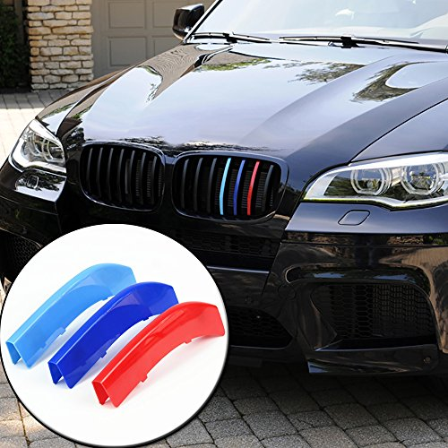 newsun-3d-m-car-styling-front-grill-trim-strips-sticker-for-bmw-3-4-5-5gt-series-x1-x3-x4-x5-x6-f10-