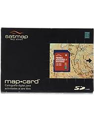 Satmap GPS System Karte aragonesische und Navarra Pyrenäen, schwarz, ES-ALP-25-PREM-SD-001