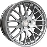 D&W  Estoril silber 8x18 5/120 ET32 BMW 3er E46 346L/R/C/K Alu felgen