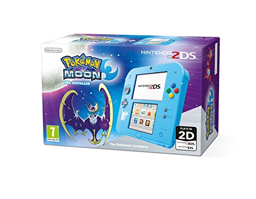 Nintendo Handheld Console 2DS with Pokemon Moon